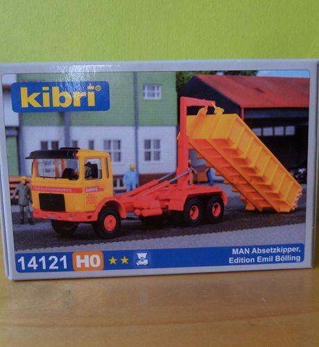 Kibri 14121 h0 Man absetzkipper Edition Emil Bölling
