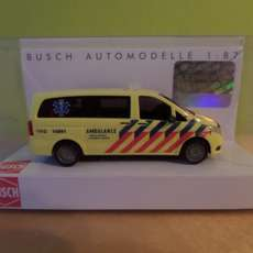 Busch H0 BA 511503 MB ambulance Hollands Midden
