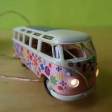 Brekina H0 31840 VW Samba T1 b Flower power LIGHT
