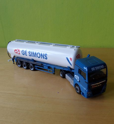 Herpa H0 H 1808  Bulk Container Ge Simons